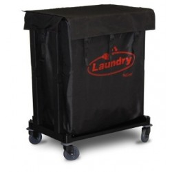 Carro de lavandería para recolección de toallas y sabanas sucias